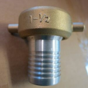 1 1 2 Npt X 1 1 4 Water Hose Fitting dredge highbanking Gold Panning Sluicing
