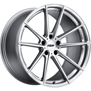 2 17x9 40 5x114 3 5x4 5 Tsw Bathurst Chrome Wheels rims 17 inch 22162