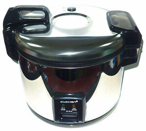 Cuchen Commercial Rice Cooker Warmer 28 Cup Made In Korea Nsf Approved