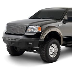 For Ford F 150 04 08 Iron Cross Rs Series Full Width Black Front Hd Bumper