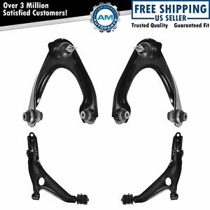 Control Arms Front Upper Lower Kit Set Of 4 For 99 00 Honda Civic Si New