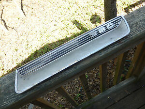 1966 1967 Ford Fairlane 390 Gt Hood Scoop 5568 Rh Side Very Rare