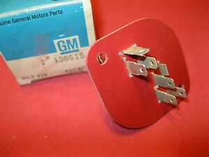 Nos 1968 70 Buick Electra wildcat riviera Blower Motor Resistor w climate