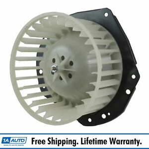 Heater Blower Motor With Fan Cage Assembly For Chevy Gmc Olds Pontiac Buick New