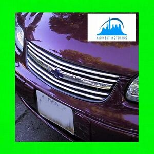 1997 2005 Chevy Chevrolet Malibu Chrome Trim For Grill Grille W 5yr Warranty
