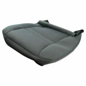 Oem 1dm741d5aa Seat Bottom Cushion Cover Gray Driver Left Lh For 06 Dodge Ram