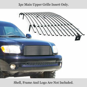 For 2003 2006 Toyota Tundra Stainless Steel Main Upper Chrome Billet Grille