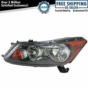 Headlight Headlamp Lh Left Driver Side For 08 12 Honda Accord 4 Door Sedan
