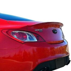 For Hyundai Genesis Coupe 10 16 Factory Style Flush Mount Rear Spoiler Unpainted