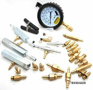 Master Fuel Injection Pump Pressure Test Kit Cise Cis Metric Sae Free Shipping