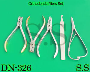 Orthodontic Slim Weingart Plier Wire Cutter Distal End Bracket Remover Dn 326