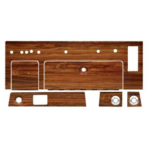 For Chevy Camaro 1969 R Dash Woodgrain Kit