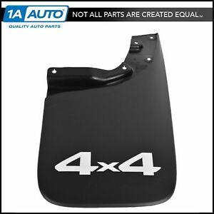 Oem Mud Flap Splash Guard Rear Rh Passenger Side Black Plastic For Toyota Tacoma