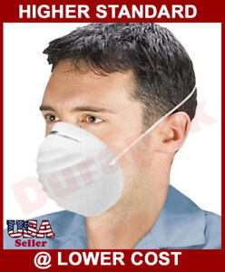 1000 White Double Straps Nuisance Dust Mask Protective Air Dirt Relieve Filter
