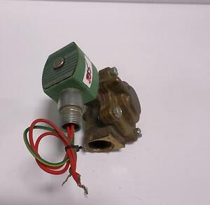 Asco Red Hat Steam hot Water Valve 8220g007