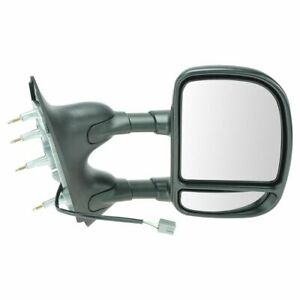 Towing Power Mirror Dual Arm Telescoping Right Rh Passenger For 09 13 Ford Van