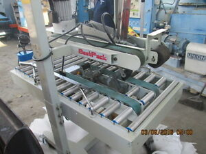 Best Pack Model 3amr Top And Bottom Box Taping Machine Carton Sealer