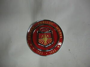 Ford Golden Jubilee Naa Tractor Hood Emblem New Free Shipping
