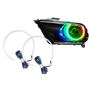 Ford Mustang 2010 2012 Oracle Lighting Smd Colorshift Halo Kit For Headlights