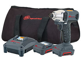 1 4 12v Hex Quick change Cordless Impact Wrench Kit Ingersoll Rand W1110 k2 Irc