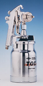 Jga Suction Feed Spray Gun 1 8mm Devilbiss Jga636 Dev