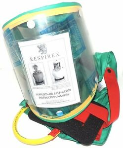 Respirex Simplair Simh056 Supplied Air Respirator Niosh Approval Tc 19c 327