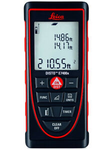 Leica Disto E7400x 390ft Laser Distance Meter Red black