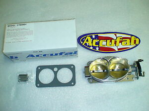 99 01 Mustang Cobra 03 04 Mach1 New Accufab Throttle Body Whipple Kennebell