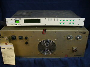 Eni Mh5002a Rf Match And Mhc 5002 Controller Mks Rf Matching Network Autotuner