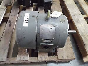 General Electric 2 Hp Motor 1160 Rpm 3 Phase Frame 213 440 Volt used