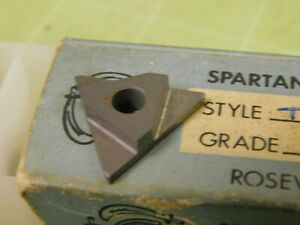 9 Spartan Tnma Carbide 067 Wide Grooving Inserts