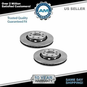 Brake Rotor Front Driver Passenger Side Pair For Chevy Aveo Spark G3