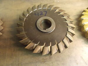 5 0 Diameter Hss 427 Slitting Side Milling Cutter