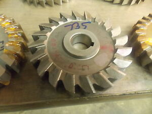 5 0 Diameter Hss 735 Slitting Side Milling Cutter