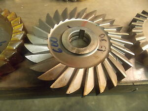 5 0 Diameter Hss 600 Slitting Side Milling Cutter
