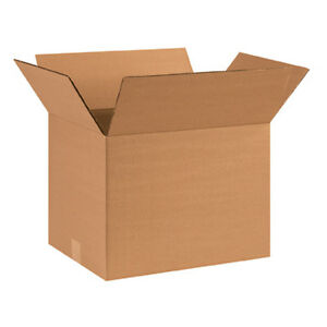 25 Small Book Cardboard Moving Shipping Boxes 16 X 12 X 12 Free Shipping