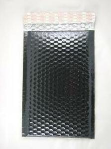 Case Of 200 Black 6 5 X 10 5 Bubble Mailers Bubble Envelopes Blingvelopes