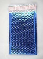 Case Of 200 Blue 6 5 X 10 5 Bubble Mailers Bubble Envelopes Blingvelopes