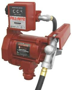 New Tuthill Fill rite Fr701v Fuel Transer 115v Pump 20gpm With Meter Sale