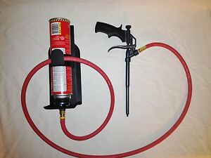 Foam Ster Foam Gun With Hose And Holster Style Can Holder Made In The U s a