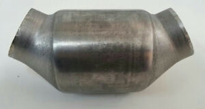 2 25 Universal Thunderbolt Catalytic Converter High Flow Offset Offset