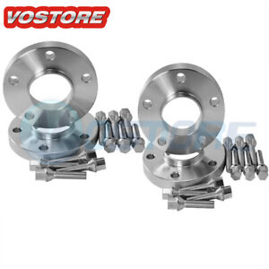 4 20mm Hubcentric Wheel Spacers Adapters 5x120 For Bmw E36 E46 E60 E61 E62 E90
