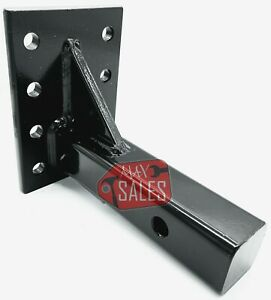 Trailer Receiver Pintle Mount 2 10 000 Lbs Hd Hitch Adjustable Flat Plate