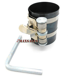 Piston Ring Compressor Ratchet Style Fits Small Size 2 1 8 53mm 125mm