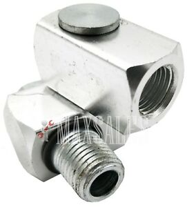 INDUSTRIAL ALUMINUM AIR 360 SWIVEL FITTING CONNECTORS HOSE TOOL COUPLER 14NPT