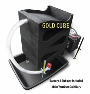 Gold Cube Deluxe 4 stack Recovery System concentrator mining Sands sluice Box
