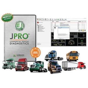 Jpro Professional Diagnostic Software Adapter Kit Heavy Truck Diesel 232125