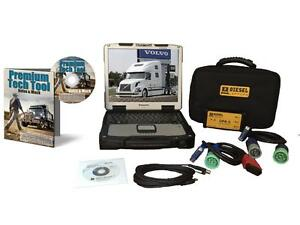 Mack Volvo Premium Tech Tool Diesel Diagnostic Laptop Kit Ptt Dpa5