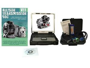 Allison Transmission Diagnostic Laptop Kit Doc Nexiq Usb Link 2 Heavy Truck Tool