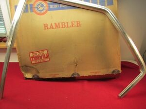 Nos 68 69 Amc Rambler Rebel Ambassador Sedan Or Station Wagon Door Frame Molding